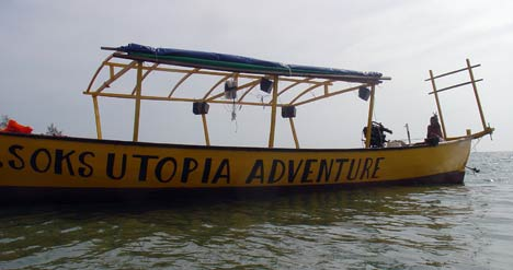 Utopia cruise, Sihanoukville