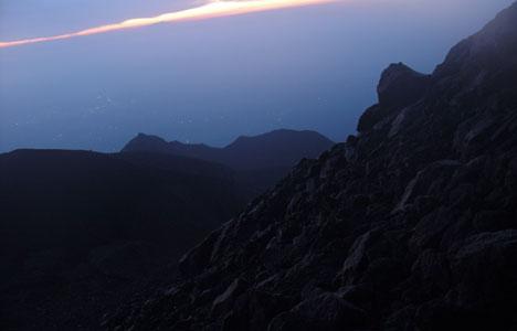 merapi volcano java