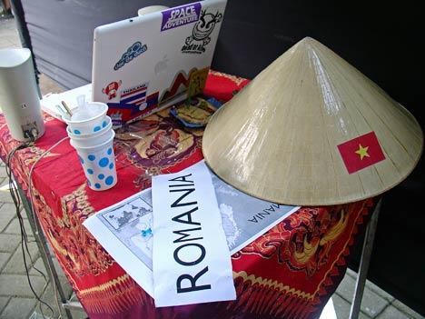 standul romaniei
