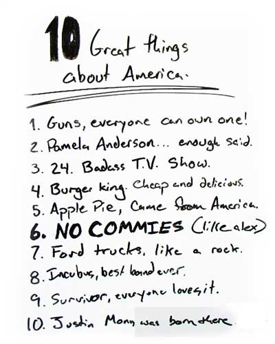 10 great things about america