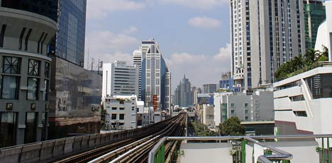 bangkok BTS sky train
