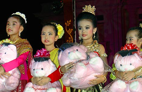 chiang mai children beauty contest