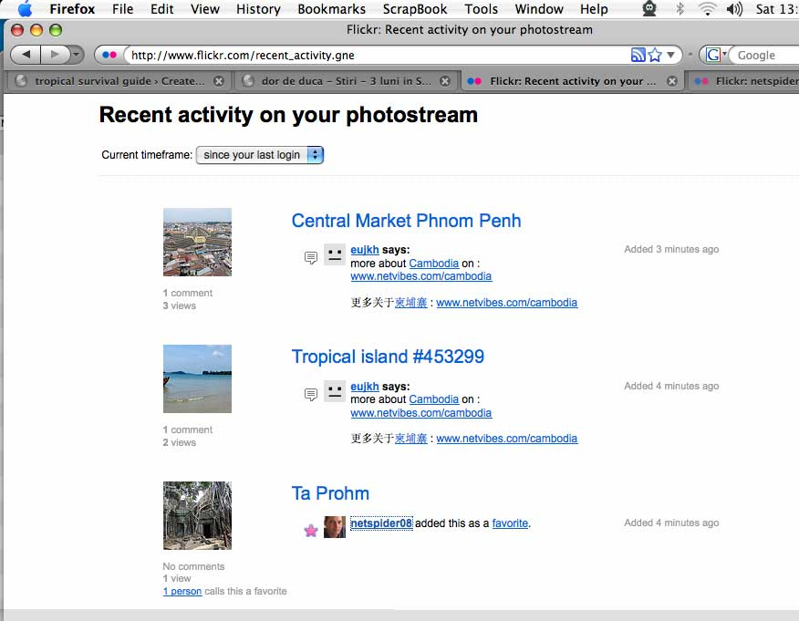 flickr spam