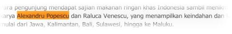 alex popescu indonezia