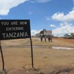 you are entering tanzania